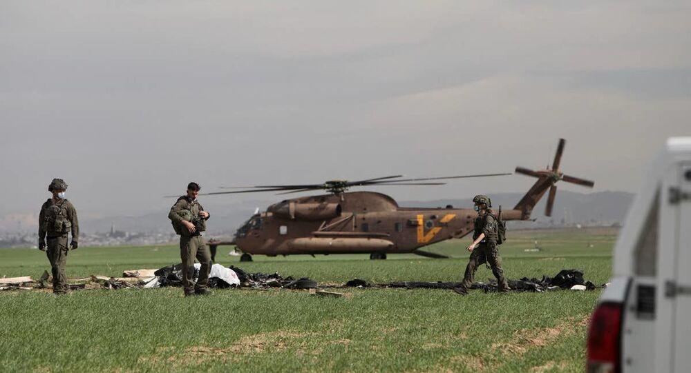 plane crash in Israel