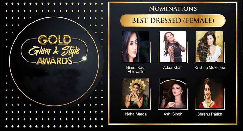 Gold Glam & Style Awards 2020 Best Dressed Female Nominations List !
