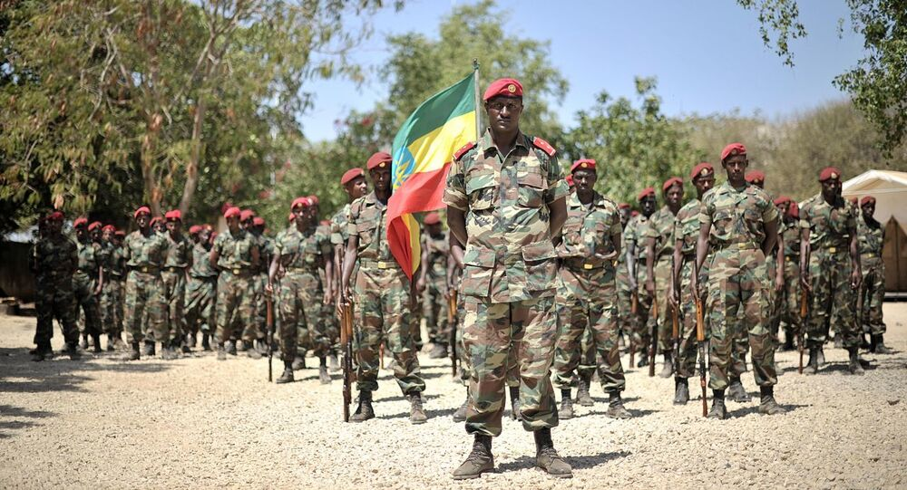 Members of the Ethiopian National Defense Forces