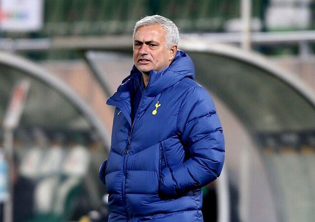 Tottenham Hotspur manager Jose Mourinho November 5, 2020