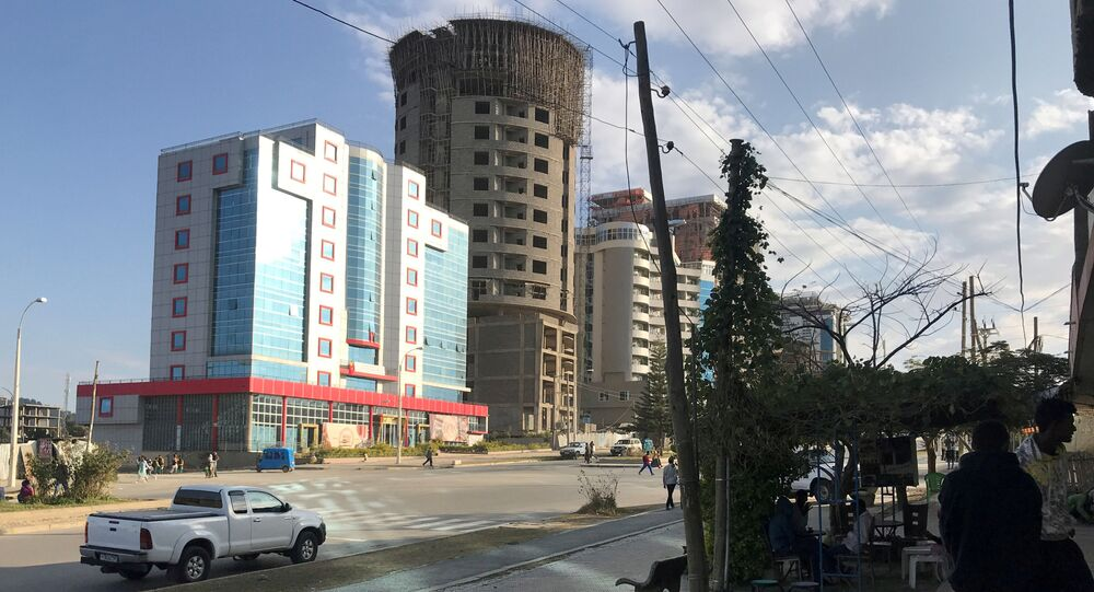 A view shows a street in Mekelle, Tigray region of northern Ethiopia December 10, 2018. Picture taken December 10, 2018.