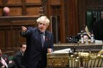 Britain's Prime Minister Boris Johnson speaks during a session on COVID-19 situation update at the House of Commons in London, Britain December 1, 2020