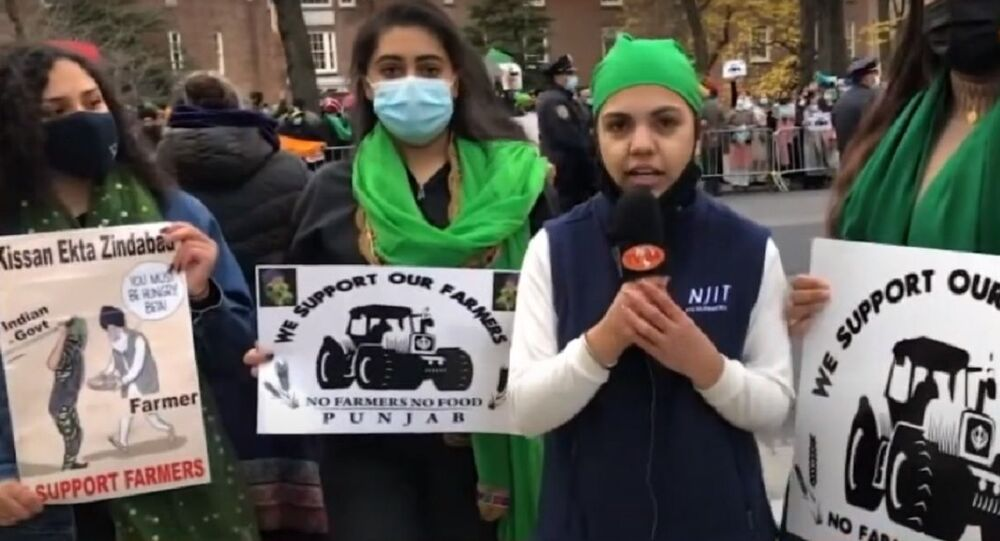 Car Rally & Protest against India's Farm Laws in front of Indian Consulate in New York