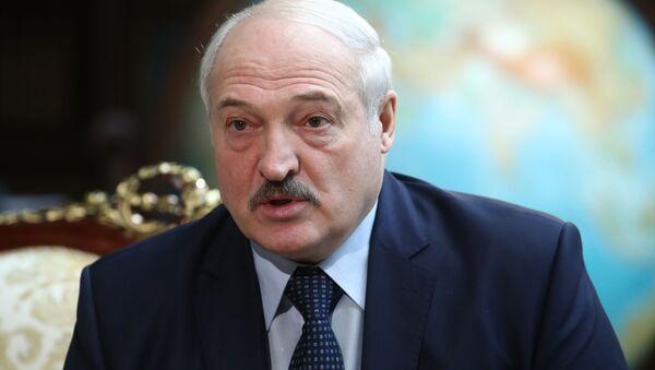 President of Belarus Alexander Lukashenko - Sputnik International