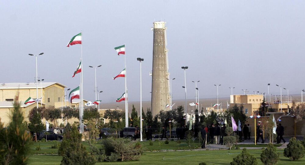 Iran's nuclear enrichment facility in Natanz in 300 kms 186 (miles) south of capital Tehran, Iran (File)
