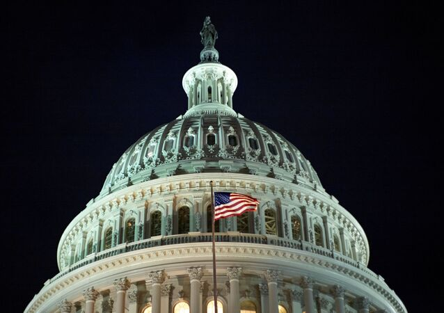 The United States Capitol building, east facade, at dawn is seen in this general view , Monday, Jan. 27, 2020, in Washington, DC