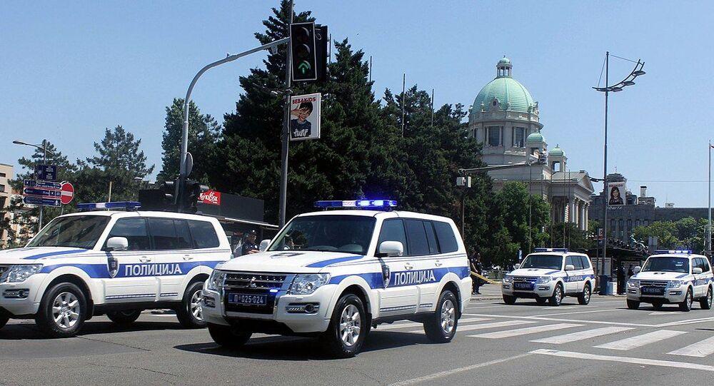 Belgrade police