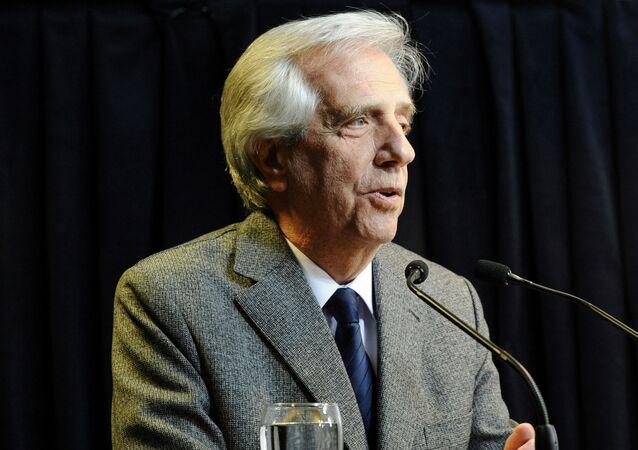 Uruguay's Tabare Vazquez