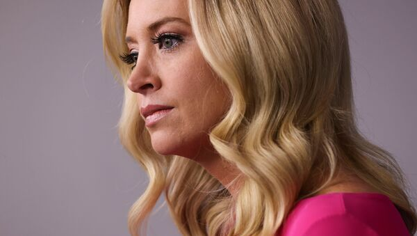 White House Press Secretary Kayleigh McEnany takes questions during a press briefing in the Brady Press Briefing Room at the White House in Washington, U.S., December 2, 2020 - Sputnik International