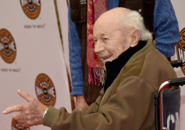 NASHVILLE, TN - OCTOBER 25: General Chuck Yeager attends The Country Music Hall of Fame 2015 Medallion Ceremony at the Country Music Hall of Fame and Museum on October 25, 2015 in Nashville, Tennessee.