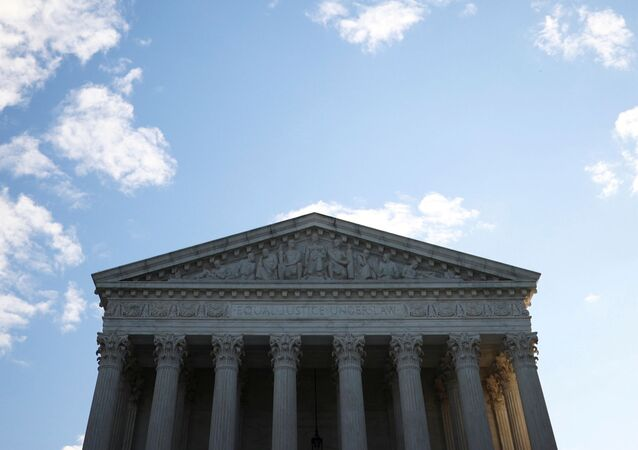 A general view of the U.S. Supreme Court building in Washington, U.S. November 10, 2020.