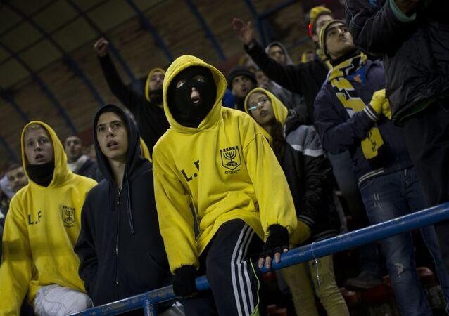 Supporters of Beitar Jerusalem football club