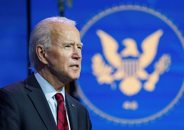 U.S. President-elect Joe Biden announces nominees and appointees to serve on his health and coronavirus response teams during a news conference at his transition headquarters in Wilmington, Delaware, U.S., December 8, 2020.