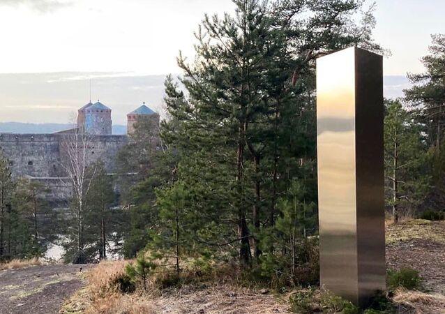 New Utah monolithic art in Savonlinna