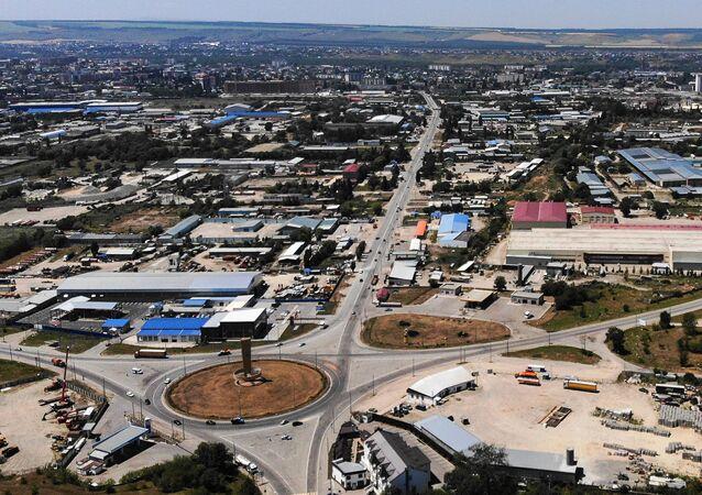 Cherkessk City in Karachayevo-Circassia