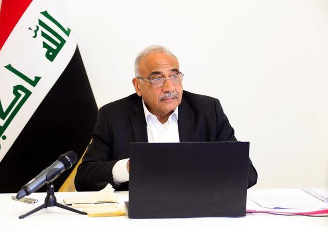 Former Iraqi Prime Minister Adel Abdul Mahdi
