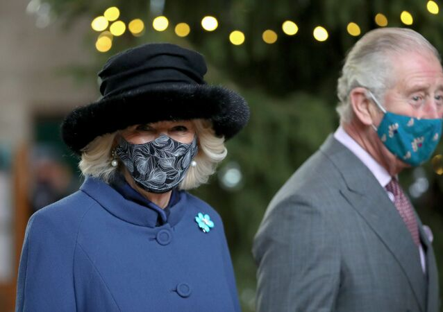 Britain's Prince Charles and Camilla, Duchess of Cornwall, visit Salisbury Cathedral