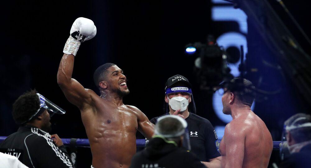 Boxing - Heavyweight World Title Fight - Anthony Joshua v Kubrat Pulev - The SSE Arena, London, Britain - December 12, 2020