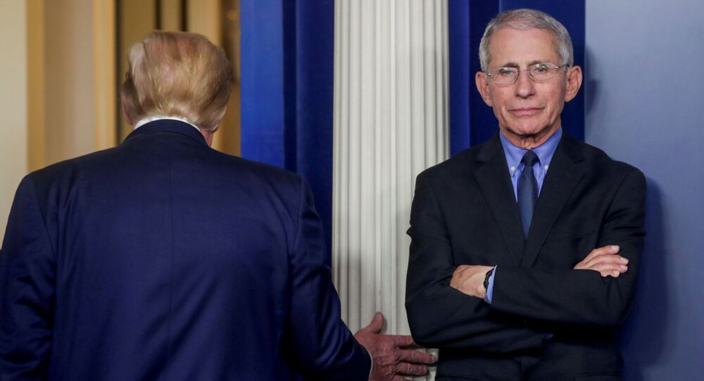 Dr Anthony Fauci reveals what he thought when Trump suggested the disinfectant