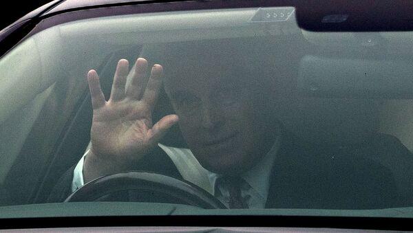 Britain's Prince Andrew leaves his home in Windsor, England, Thursday, Nov. 21, 2019 - Sputnik International