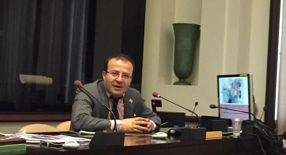 Social Researcher Kameel Ahmady