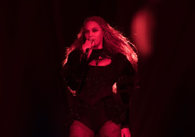 Beyonce performs during the Formation World Tour at Principality Stadium on 30 June 2016, in Cardiff, United Kingdom