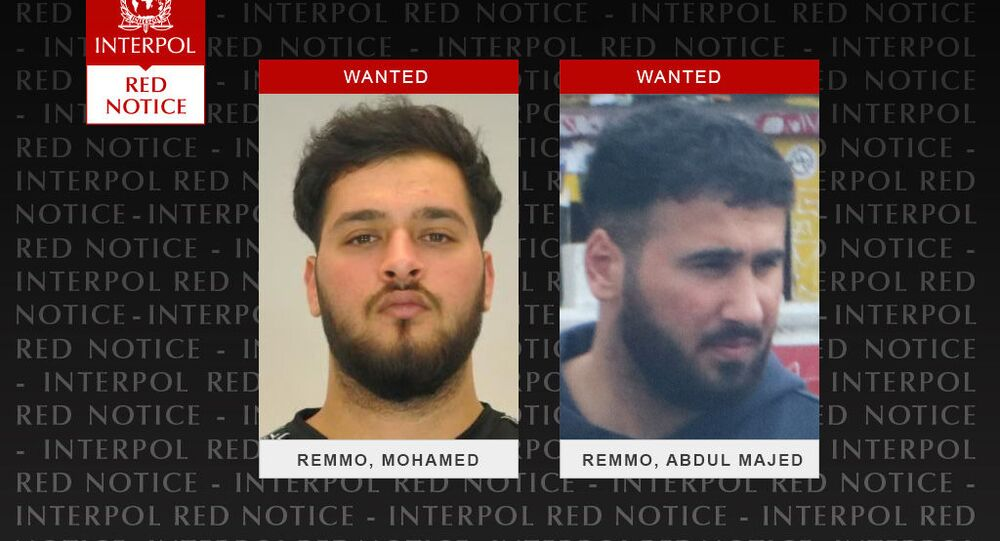 Abdul Majed Remmo (right) is still on the run. His brother Mohammed has been arrested