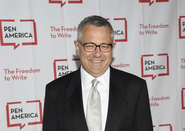 Lawyer and author Jeffrey Toobin attends the 2018 PEN Literary Gala at the American Museum of Natural History on Tuesday, 22 May 2018, in New York.