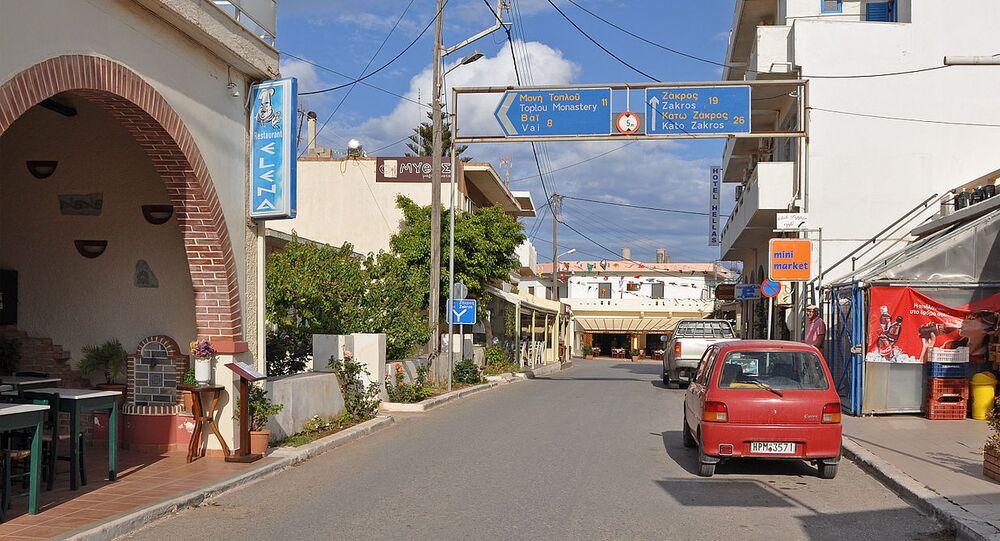 Palekastro (Eastern Crete, Greece): Main Street