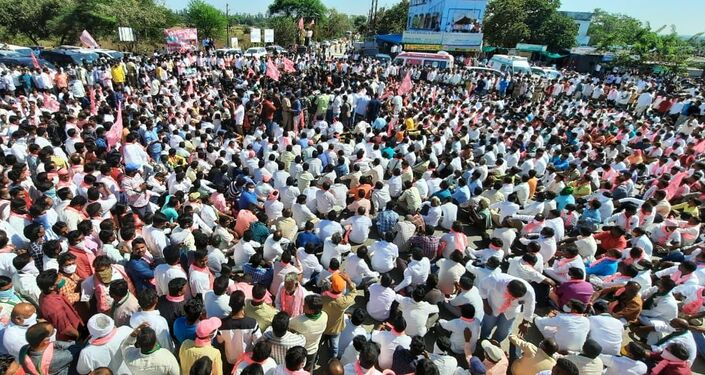 Protesting Farmers in India