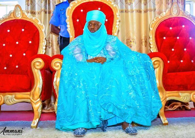 Alhaji Sanusi Muhammad Asha Emir of the Kaura Namoda area in the northern Nigerian state of Zamfara.