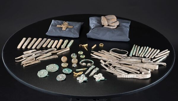 The Galloway Hoard has been acquired by National Museums Scotland  - Sputnik International