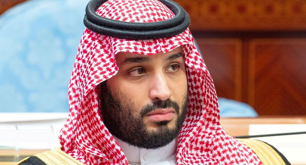 Saudi Crown Prince Mohammed bin Salman attends a session of the Shura Council in Riyadh, Saudi Arabia November 20, 2019.