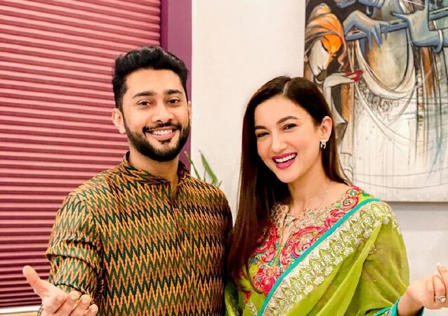 Gauahar Khan and  Zaid Darbar