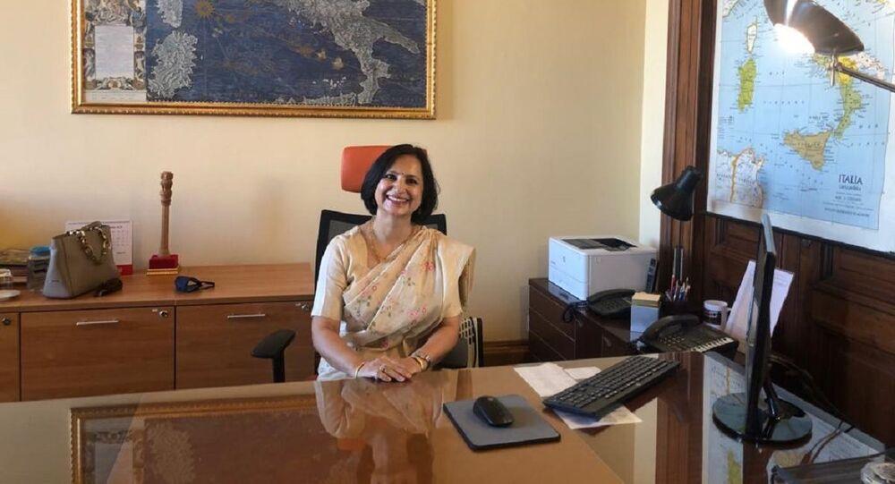 Neena Malhotra, Ambassador of India to the Republic of Italy