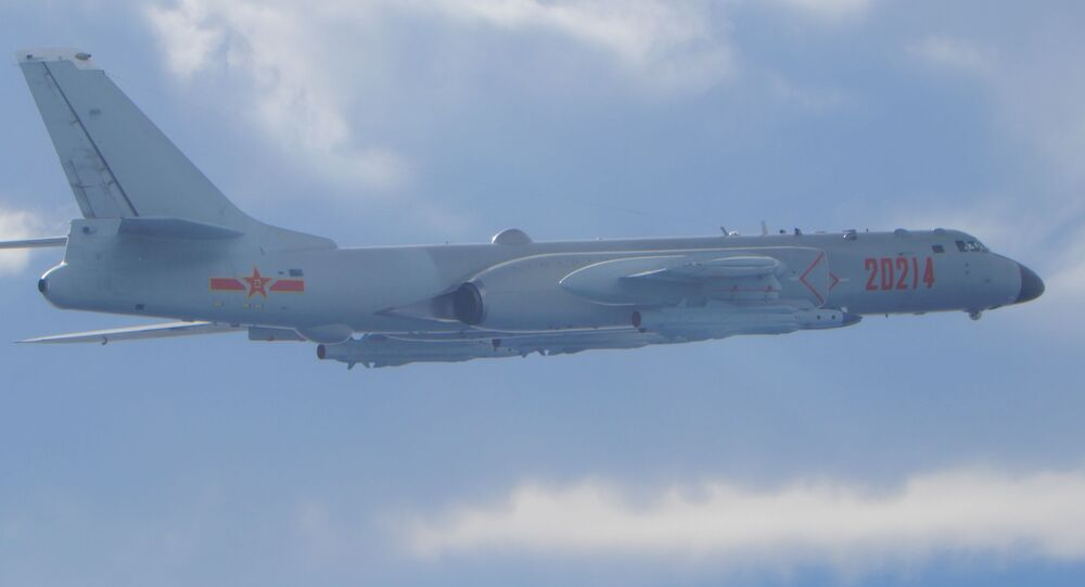 Russian and Chinese bombers fly joint patrol over Pacific