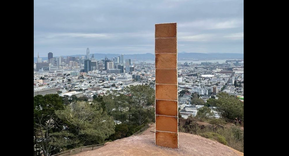 New monolith appears in San Francisco