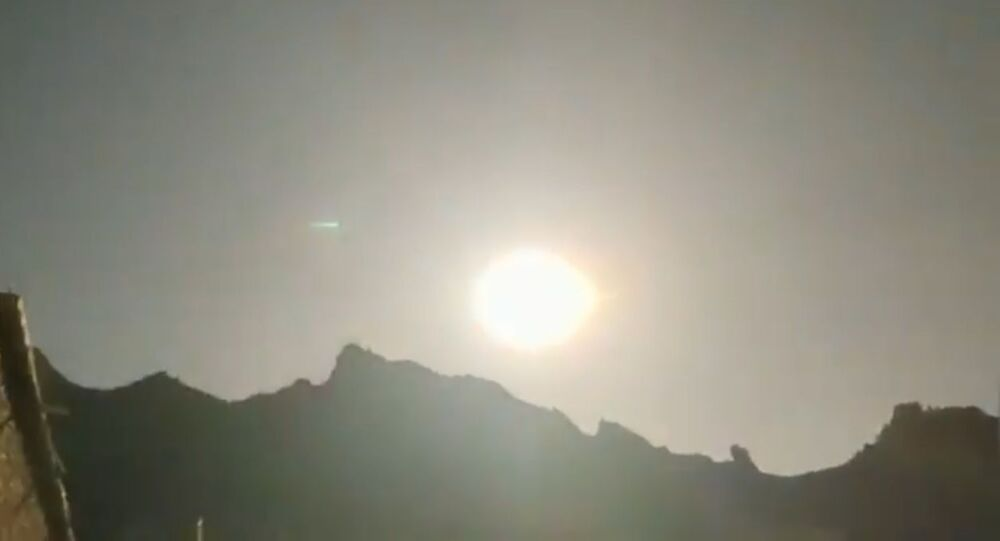 Mysterious Fireball Crashes in China