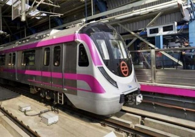 The first 'driverless' train will roll out on the 37-km long Magenta Line of the Delhi Metro