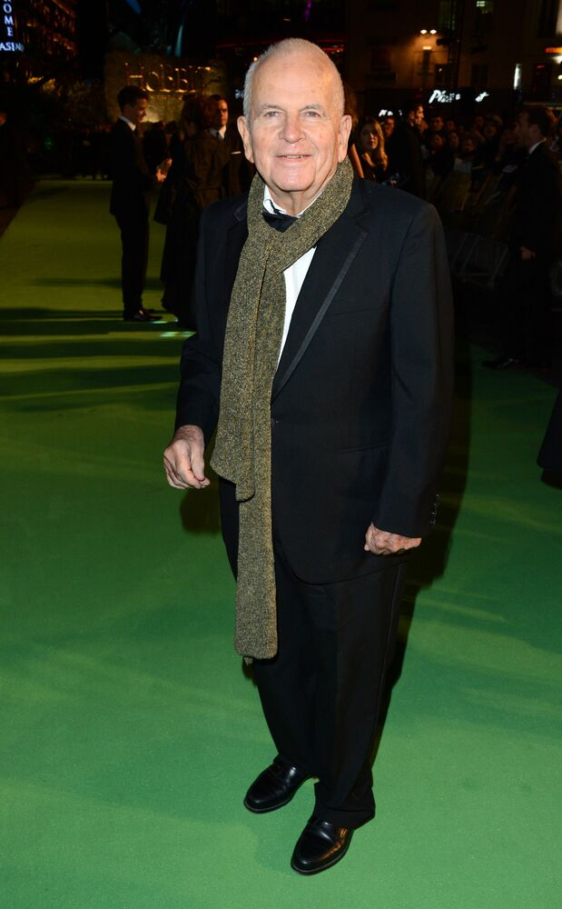 Ian Holm at the UK premiere of The Hobbit: An Unexpected Journey at the Odeon Leicester Square on Wednesday, 12 December 2012, in London.