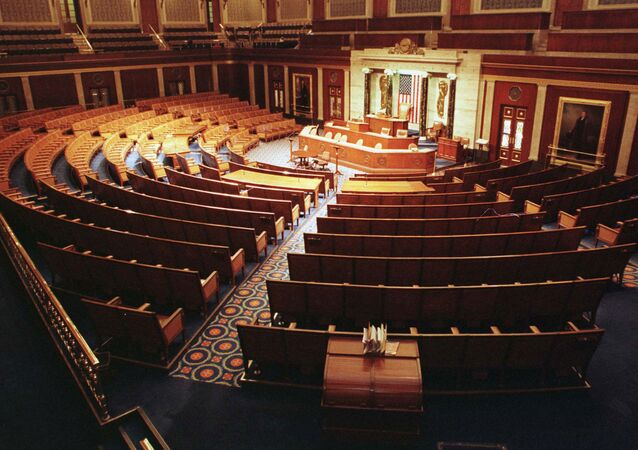 The Chamber of the House of Representatives is shown empty December 15. Beginning on Dec. 17, 1998.
