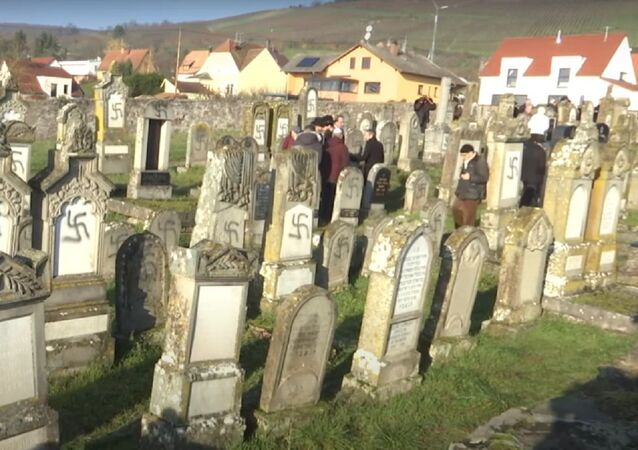 FrancRuptlye: Over 100 Jewish graves defaced with swastikas near Strasbourg
