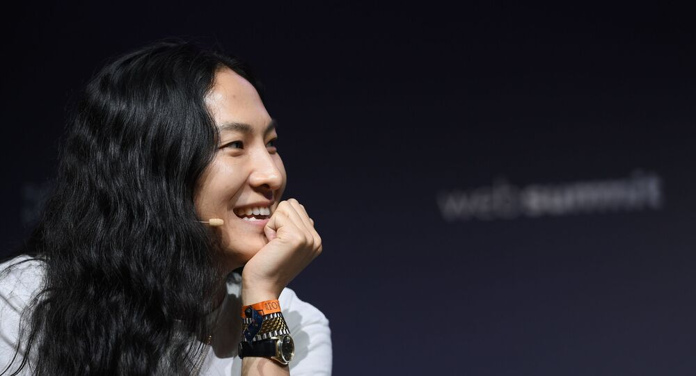 Fashion designer Alexander Wang on the Contentmakers 1 Stage during day two of Web Summit 2018 at the Altice Arena in Lisbon, Portugal
