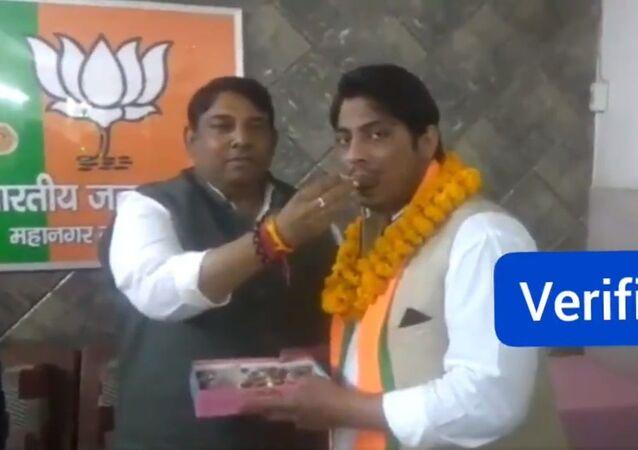 Kapil Gujjar joins BJP
