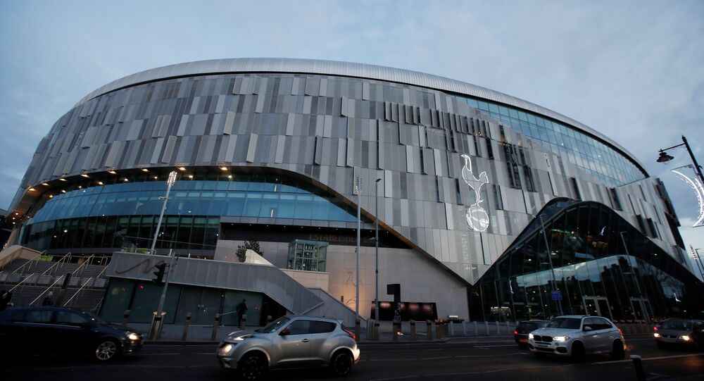 Tottenham Hotspur Stadium, London, Britain - December 30, 2020   General view outside the stadium after the game was called off due to cases of coronavirus
