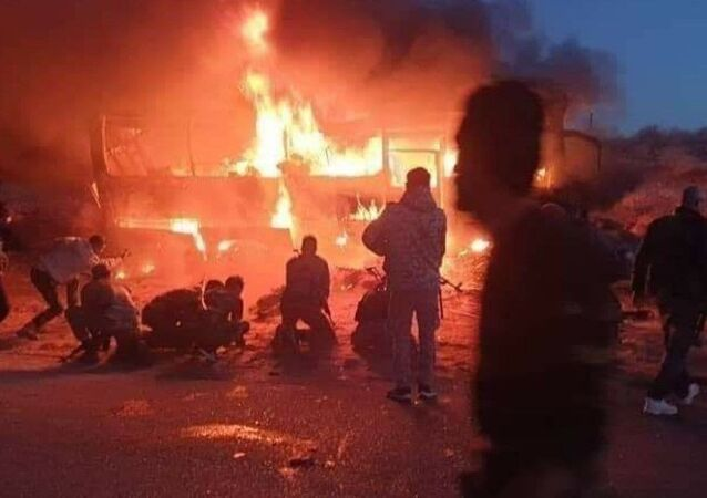 Syria bus attack 30 December 2020