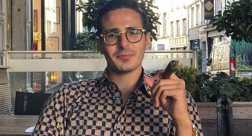 Shimon Hayut, the so-called 'Tinder swindler'.