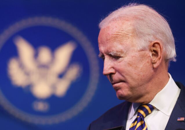 U.S. President-elect Joe Biden attends a briefing to deliver remarks on the U.S. response to the coronavirus disease (COVID-19) outbreak, at his transition headquarters in Wilmington, Delaware, U.S., December 29, 2020.
