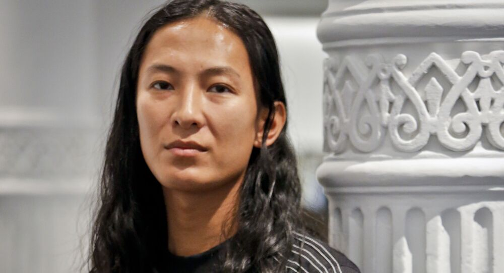 Fashion designer Alexander Wang posing in his studio Tuesday 6 September 2016, in New York on the eve of his unveiling his Fashion Week collection, including his collaboration with Adidas - Adidas originals by Alexander Wang.