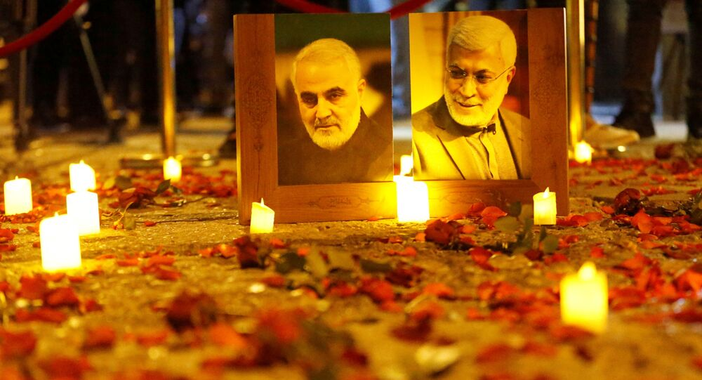 Angry vigils mark death anniversary of Soleimani and Muhandis in Iraq
